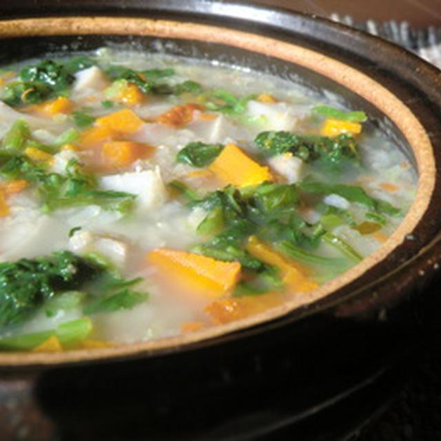 体にやさしい 野菜粥
