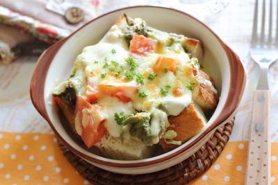 アボカドトマトのチーズ焼き