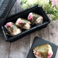 お花見に♫桜もち風お寿司