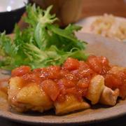トマト照り焼きチキン