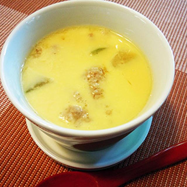 冬瓜ほろり中華茶碗蒸し