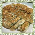 冷蔵庫の残り物整理、肉無し野菜焼き餃子(参考レシピ付)