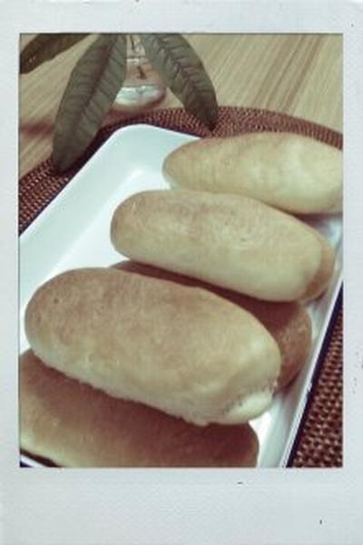 ※今日のお家パン※~コッペパン風ハムパン~