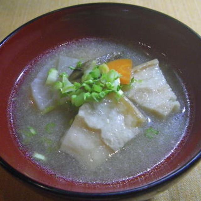 豚汁もどき・料理レシピ