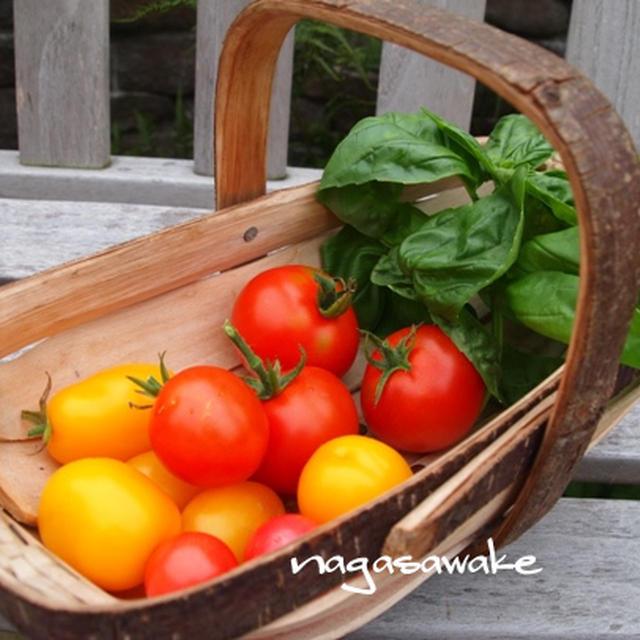 トマトとバジルとベーコンの炊き込みご飯のレシピ・作り方