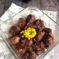 お弁当や作り置きに牛こま切れ肉でなんちゃって肉団子