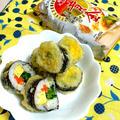 「昭和天ぷら粉 黄金」で!さっぱり巻き寿司天ぷら