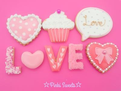バレンタインアイシングクッキー♡2015