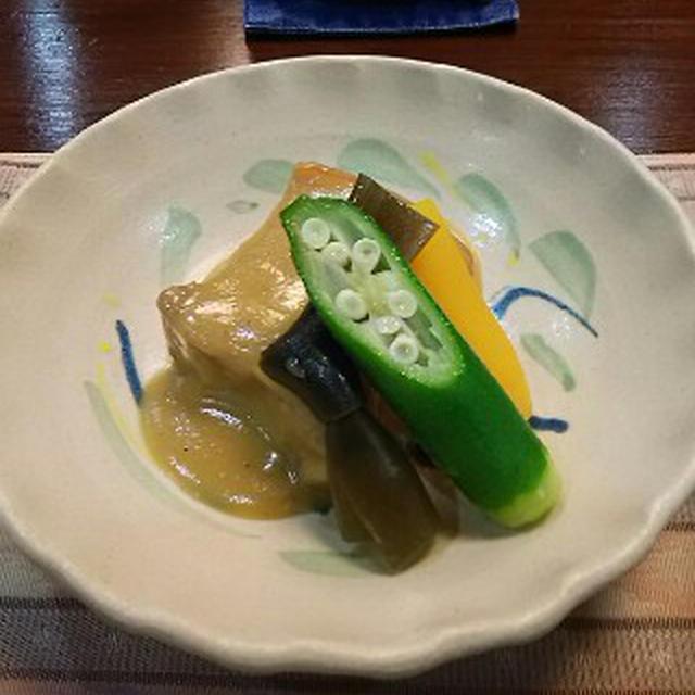 琉球料理に頭をたれる夜12:らふてー