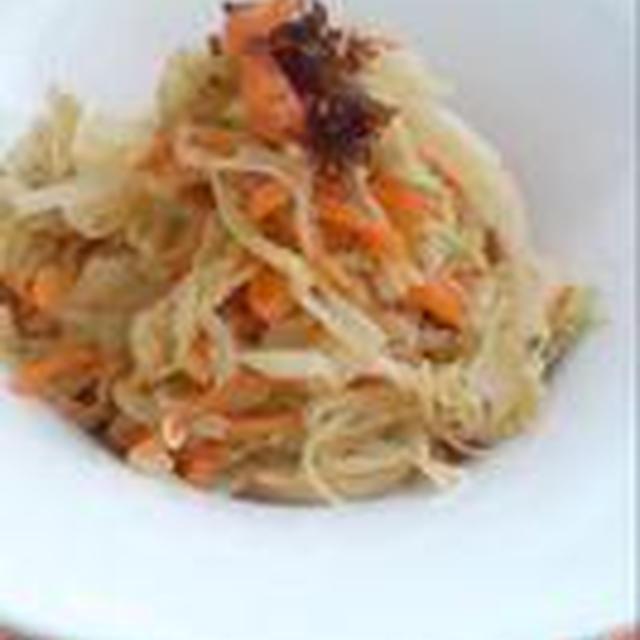 キャベツの中華風サラダ