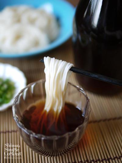 素麺|麺つゆの作り方|手づくり麺つゆ|島原手延べ素麺|本村製麺工場|How to make soup for somen