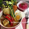 ゴロゴロお野菜のスープカレー