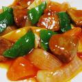 おうちでカンタン酢豚<レンジグリルで豚肉調理>