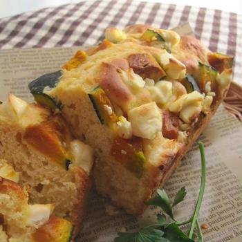 HM使用♪南瓜とクリームチーズのケーク・サレ