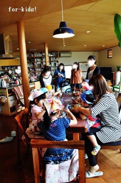 for kids!こどもお菓子教室 父の日のヘルシーブラウニー7・8回目!