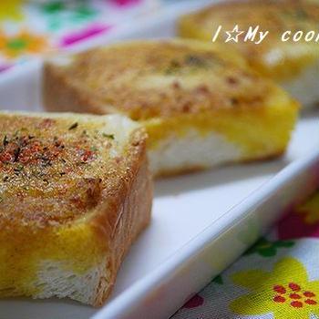 KALDI「ぬって焼いたらカレーパン」でチーズカレーパン