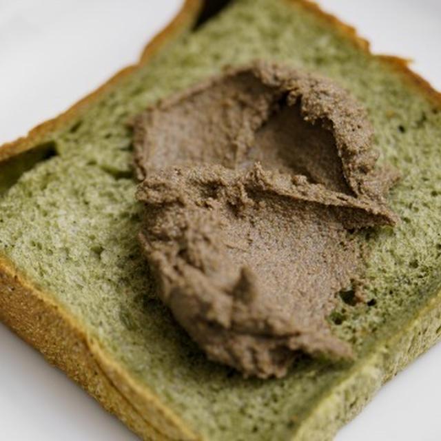 パンに塗る黒ごまきな粉バターのレシピ