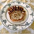 ポークチョップの赤葡萄添えのレシピ