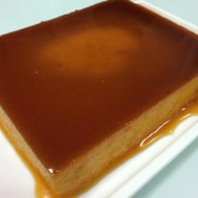 かぼちゃプリンのケーキ