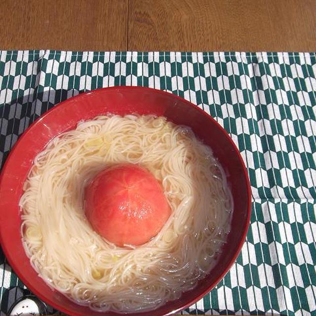 まるごとトマトにゅうめん