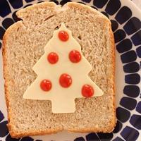クリスマスツリーのデコパン