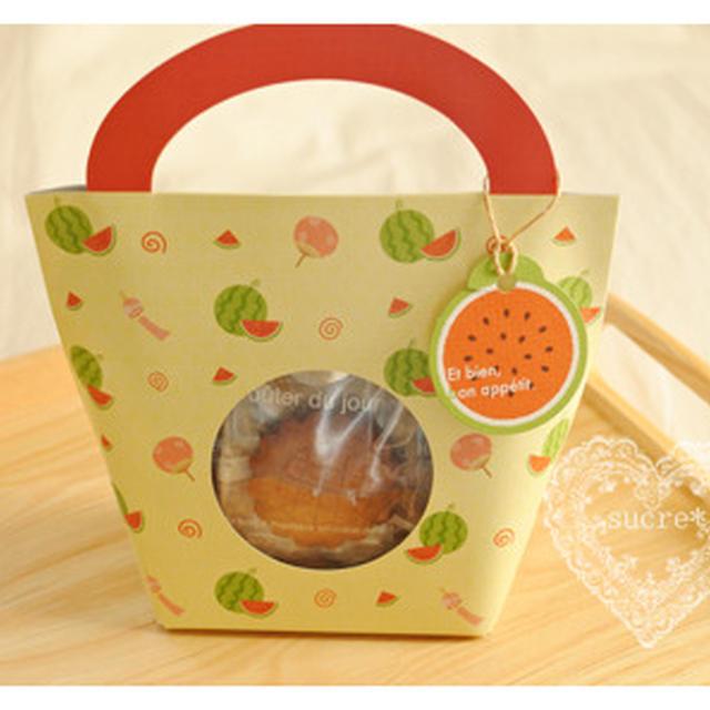 * Suipa トートBOX・黄色&バリアNY合掌袋フレンチマップ「全粒粉はちみつクッキー」 *