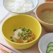 【和風おもてなし】豚ひき肉と豆腐のなめたけ真薯♡レンチン5分で簡単!『手作りなめたけ』活用レシピ