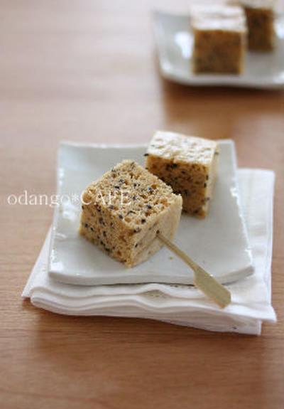 米粉の味噌きなこ蒸しケーキ と、テレビ出演のお知らせ♪