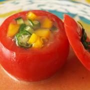 トマトファルシ(ゼリー寄せ)<レシピコンテスト>