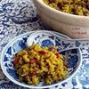 玄米と小豆のサフランライス
