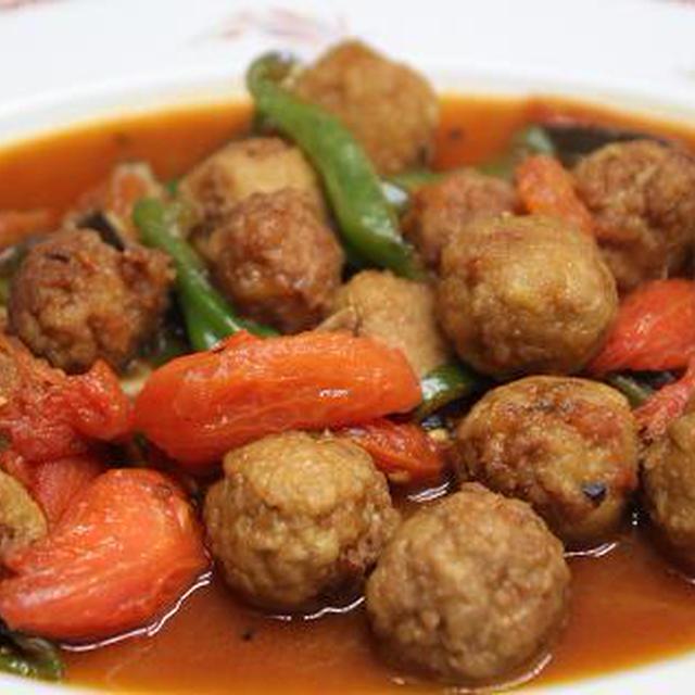 レシピ 肉団子のトマト煮