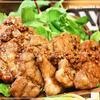 豚ヒレ肉のガーリック照り焼き
