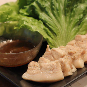 【recipe】蒸し豚