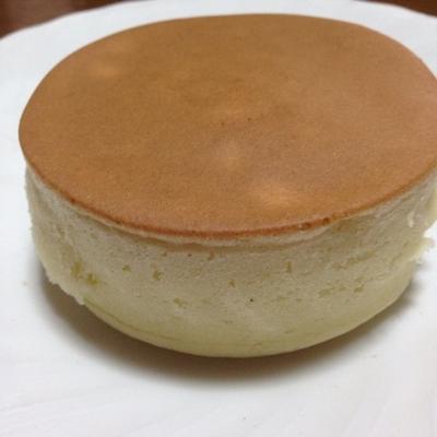 セリアの型でつくる♡「ふんわり厚焼きホットケーキ」