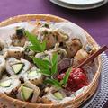 「ズッキーニと鱧の大葉梅肉ロール ごま衣」 夏のおもてなし料理 & IH掃除3
