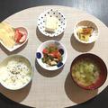 取り分けレシピ☆豚ロースの味噌焼き&かぼちゃと大根の煮物【幼児食】