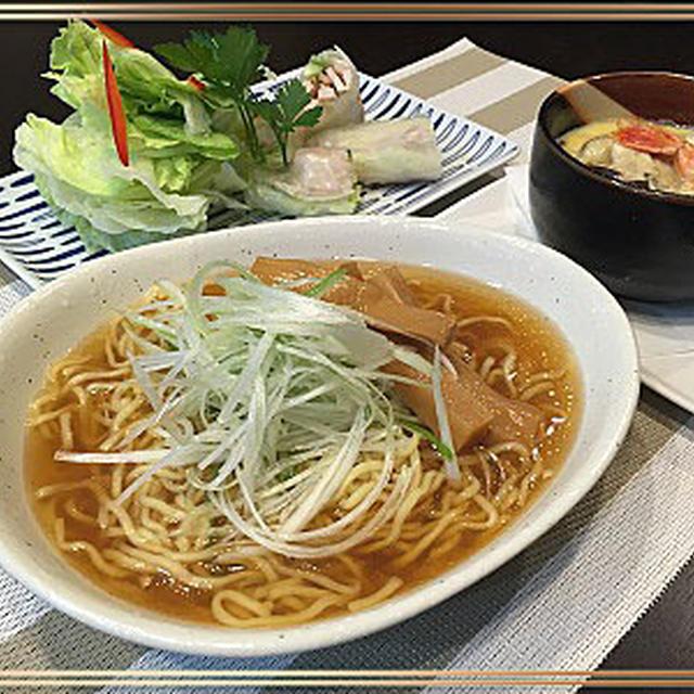 モニターマルちゃん正麺「ラーメンが役立つ我が家の晩ご飯」です~♪