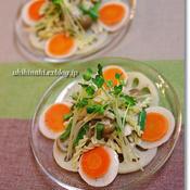 根菜ときのこのピクルス・サラダ