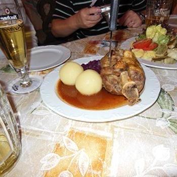 ドイツの食事を思い出して