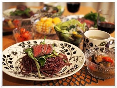 ブラパラオーバルとフライパン1つで出来る赤ワインパスタ。
