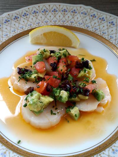 【プロのレシピ】ホタテ貝の薄切りオーブン焼き
