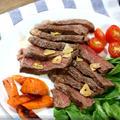【にぎりっ娘。LIFE】安いお肉が!?ビールで柔らかジューシー!!美味しいステーキ♪ by Nigiricco*さん