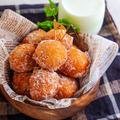 ♡簡単!ホットケーキミックスで豆腐ドーナツ♡【#レシピ #cotta #手抜きおやつ】