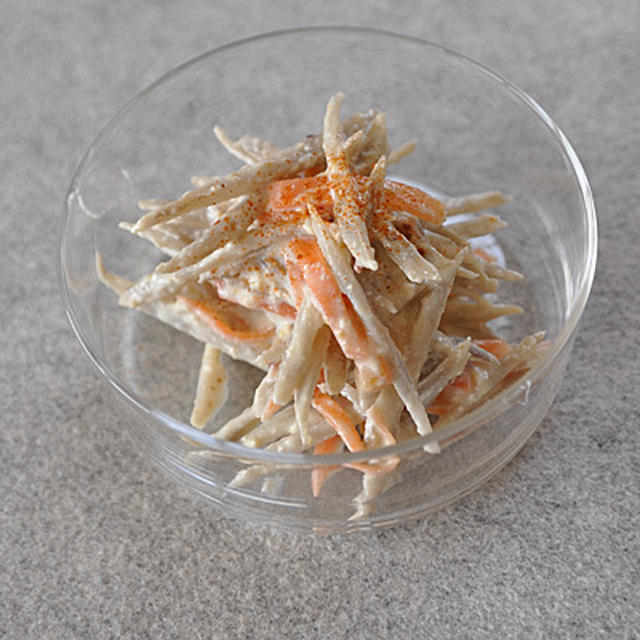 ゴボウサラダ(豆腐マヨ)