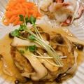 【レシピ】菌活でがん予防!豆腐ハンバーグ〜和風きのこあんかけ〜