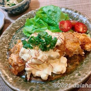 【レシピ】「チキン南蛮」サッパリ!美味しくカリッ!と香ばしくできる基本の作り方