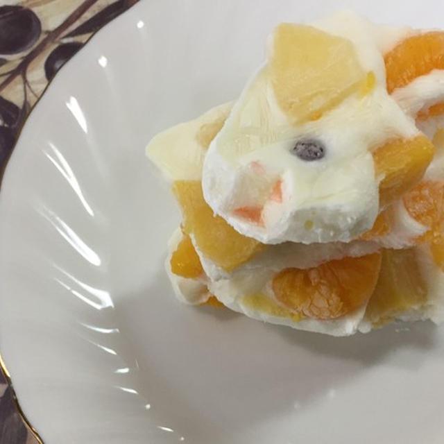 話題の簡単アイス!ヨーグルトバークの作り方  by 食の贅沢/FoodLuxury