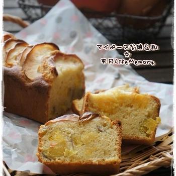 安納芋&紅玉林檎のパウンドケーキ