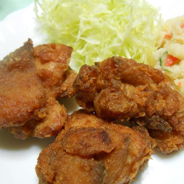 味が濃くて柔らかい! 大満足な鶏のから揚げ