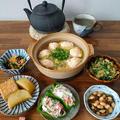 白菜と柚子胡椒鶏団子のスープ鍋✨